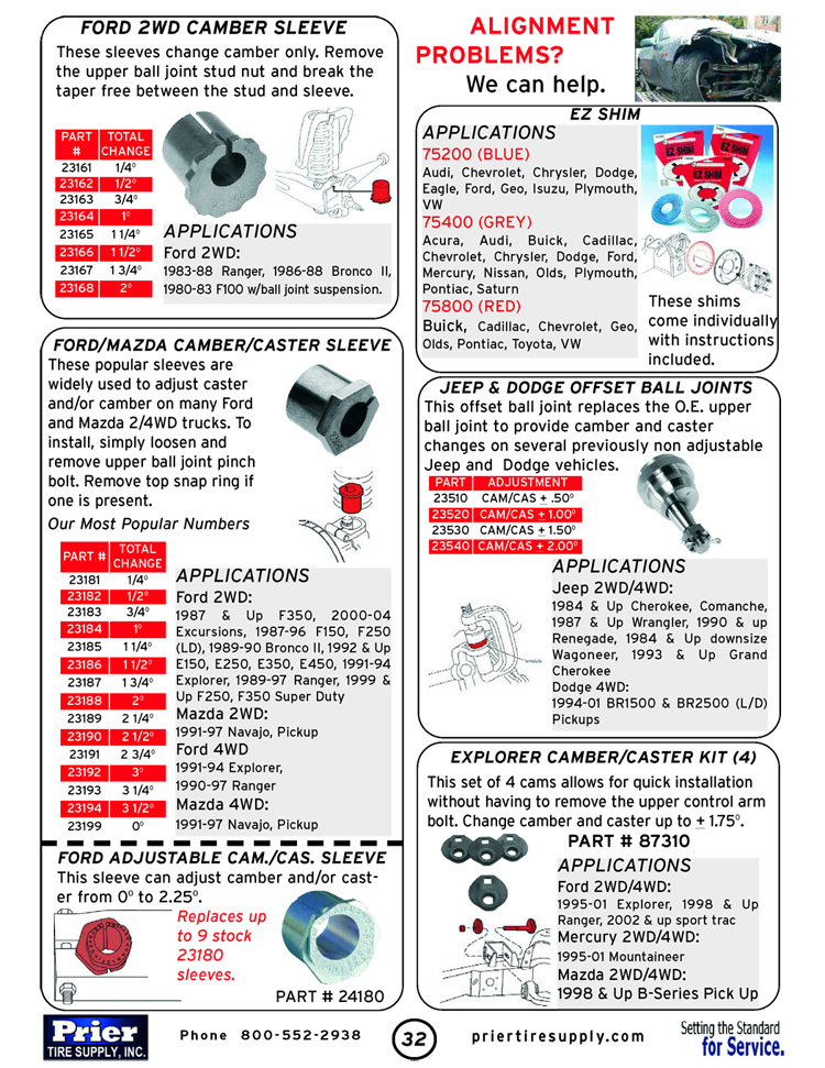 Prier Tire Company Online Virtual Catalog: Page 32